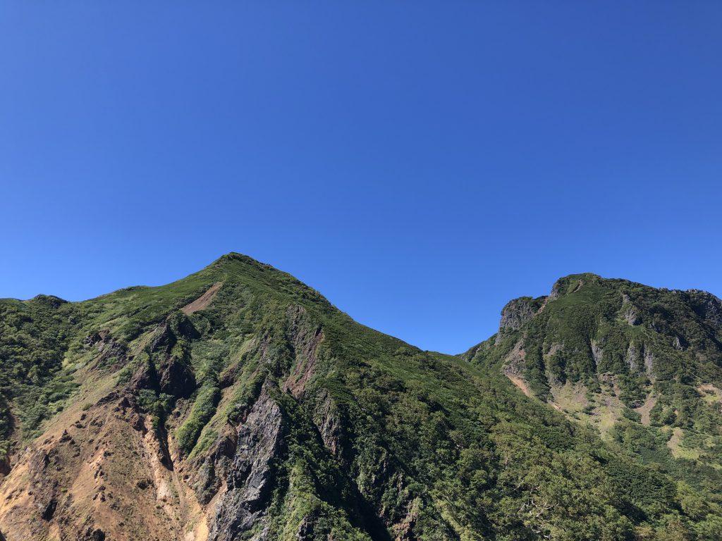 八ヶ岳連峰 赤岳 文三郎尾根