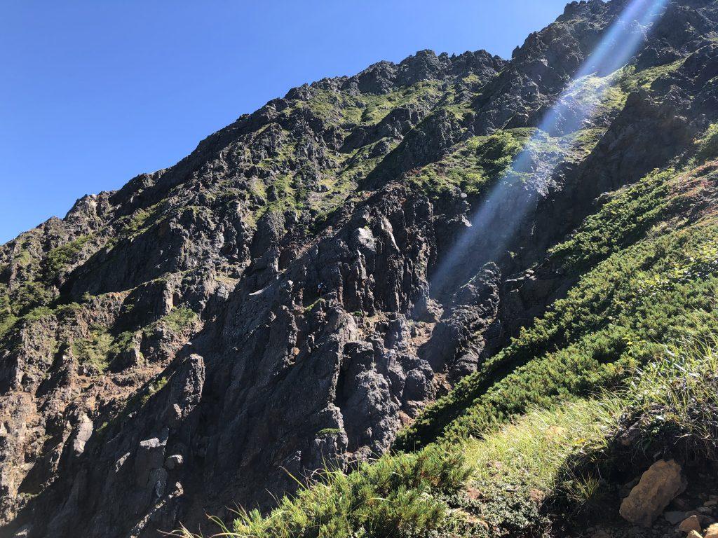 八ヶ岳連峰 赤岳 クライミング