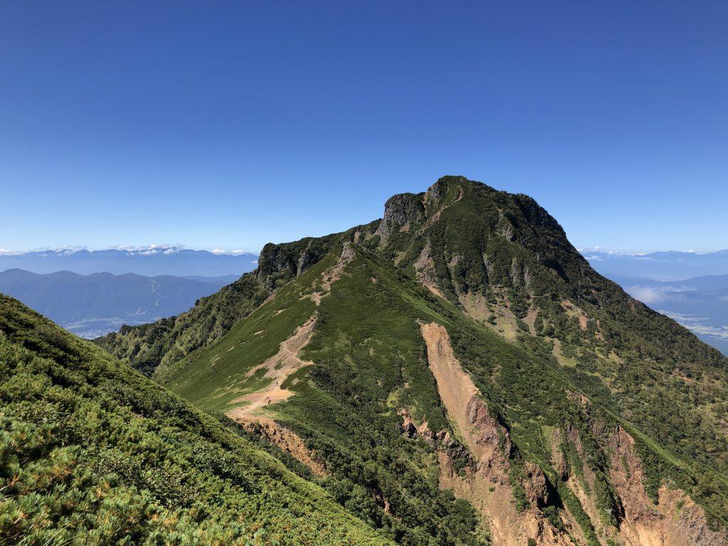 八ヶ岳連峰 赤岳 文三郎尾根 阿弥陀岳 稜線
