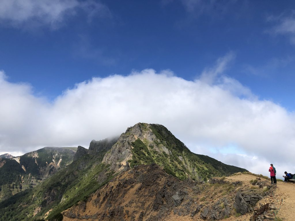 八ヶ岳連峰 赤岳 三叉峰