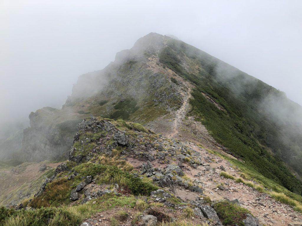 八ヶ岳連峰 横岳 三叉峰