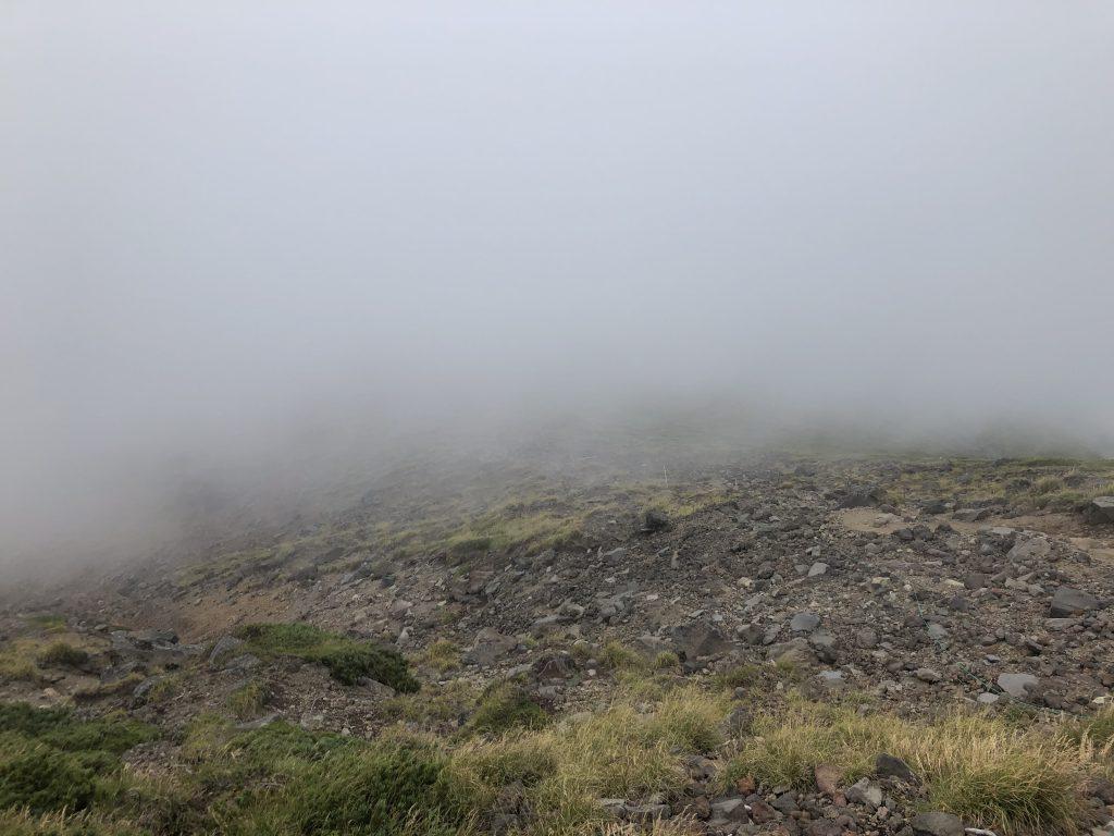 八ヶ岳連峰 硫黄岳山荘