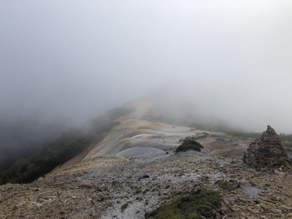 八ヶ岳連峰 硫黄岳