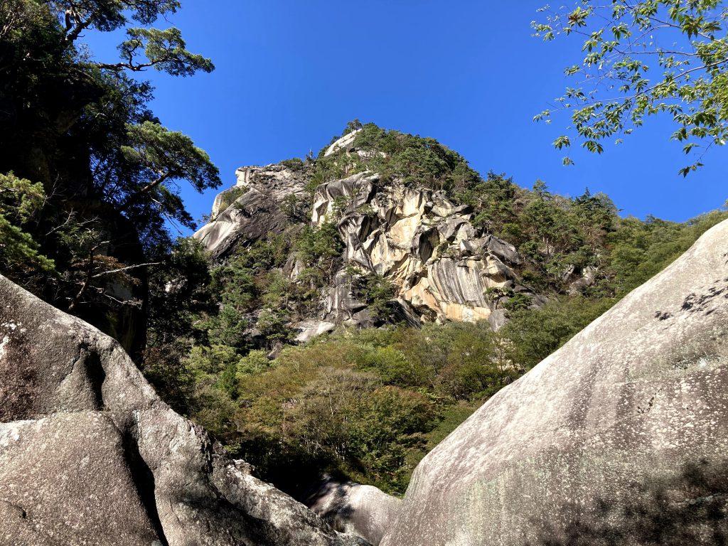 翌日の登山にむけて山梨県へ。ついでに昇仙峡観光。