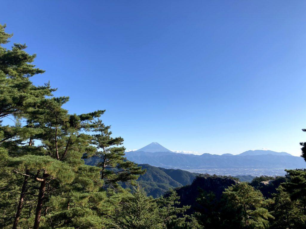 昇仙峡 富士山