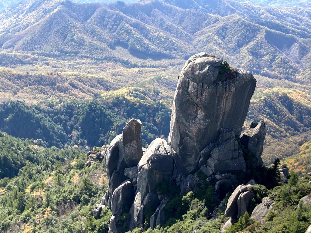 瑞牆山 大ヤスリ岩